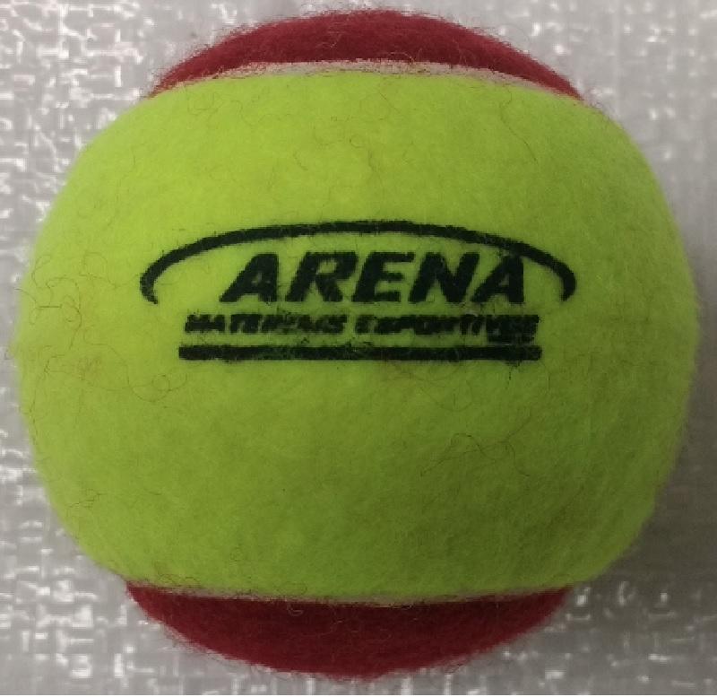 675df3c00c Bola de Tênis Arena – Modelo Soft Estágio 3 – 75% mais lenta
